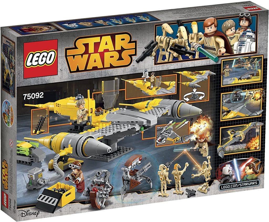Photo Lego Star Wars Naboo Starfighter