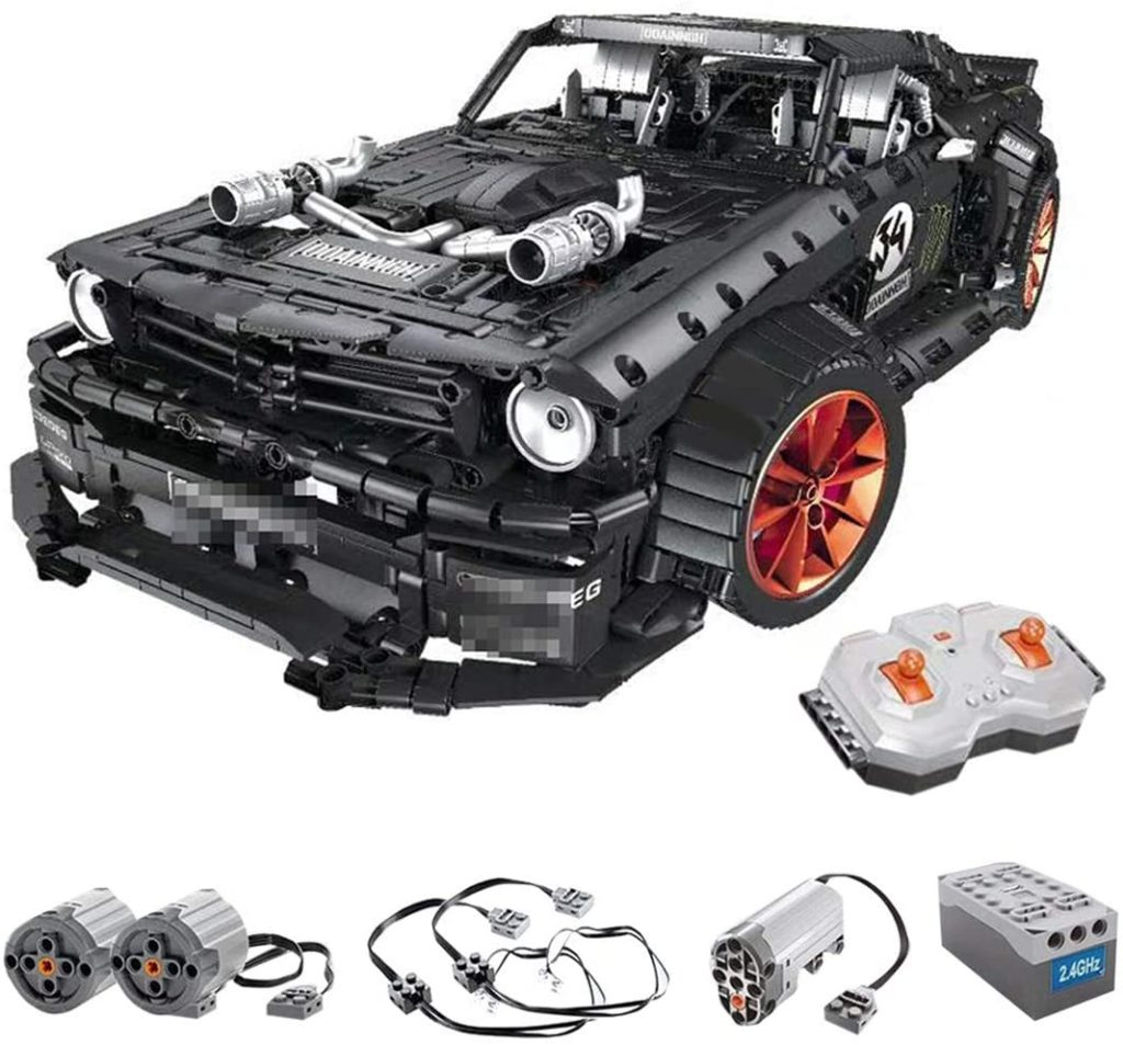 Image of Lingxuinfo racing car building kit