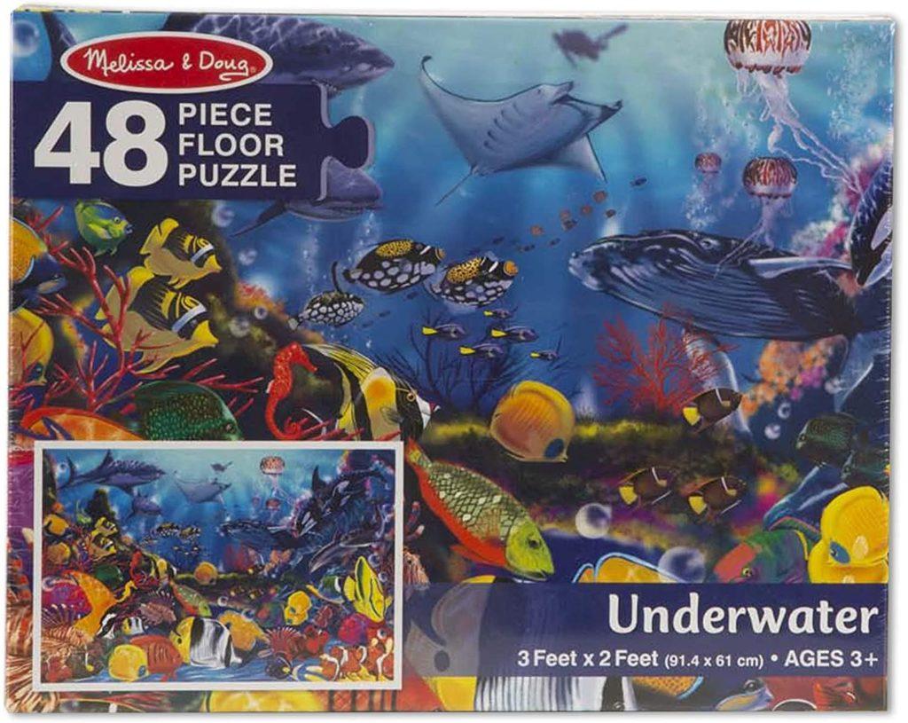 Image of Melissa Doug Underwater Floor Puzzle