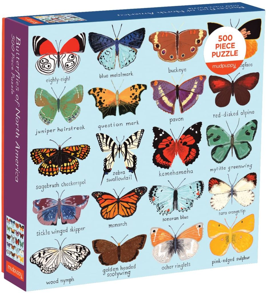 Image of Mudpuppy Butterflies of North America Puzzle
