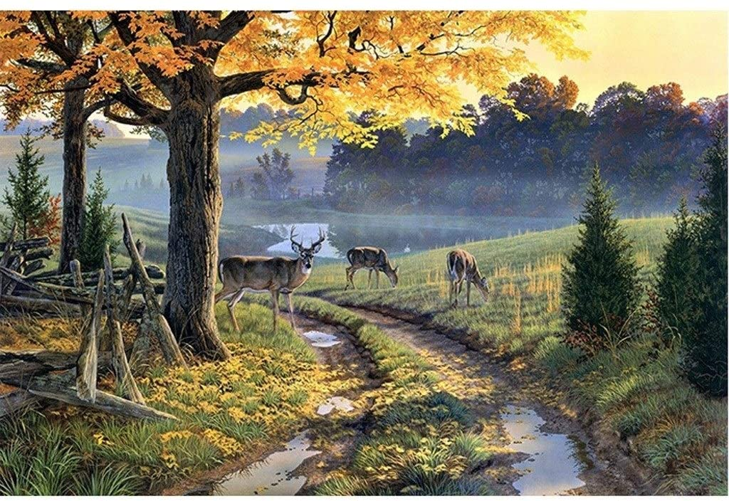 Image of Rich Elk Collection Jigsaw Puzzle