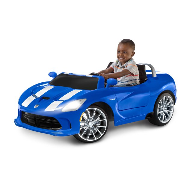 Picture of SRT Viper Kid Convertible 2 Seater Ride On Toy Car with Parental Control