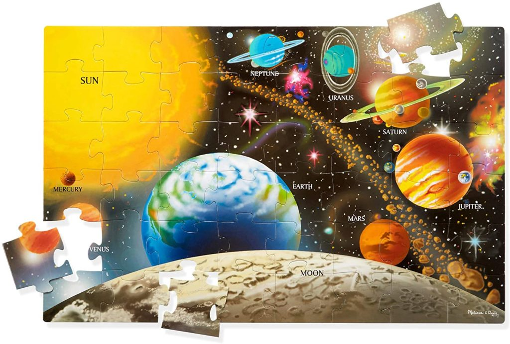 Image of Solar System Floor Puzzle from Melissa & Doug