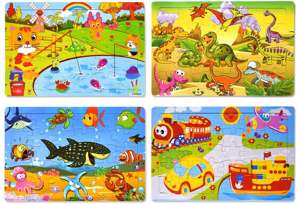 Image of Wooden Jigsaw puzzles from Graceon