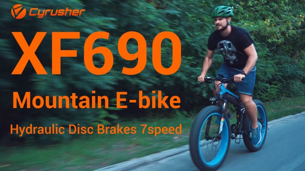 Image of Extrbici XF690 Electric Folding Bicycle Fat Bike