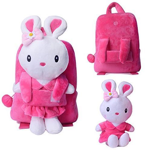 Image of Gloveleya Toddler Backpack with Stuffed Toy