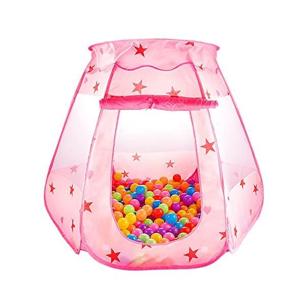 Photo of Le Papillon Pink Princess Tent