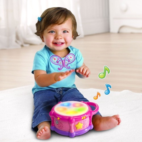 Image of LeapFrog Learn & Groove Play Drum Bilingual Toy