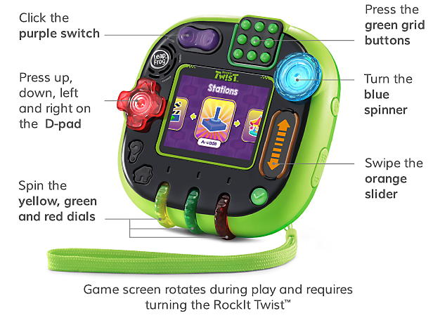 Photo of Leapfrog RockIt Twist Learning Game System
