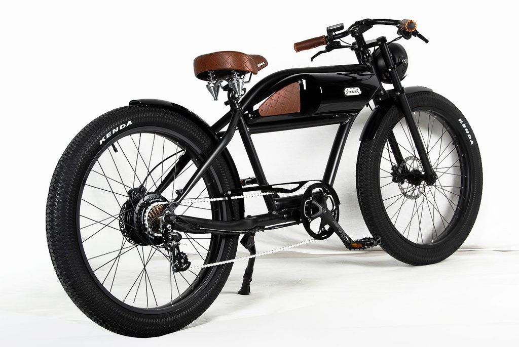 Photo of MICHAEL BLAST T4B GREASER RETRO STYLE Electric BIKE
