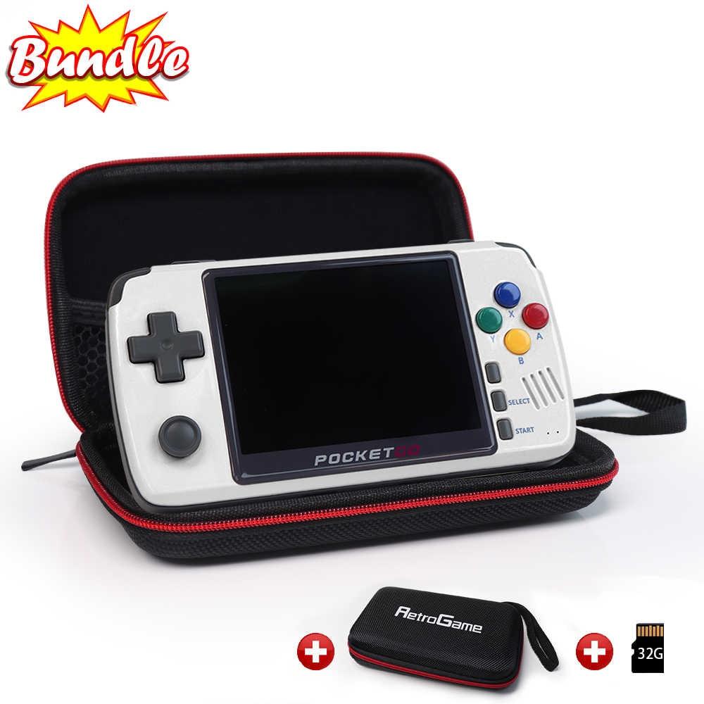 Image of New PocketGo V2 Upgraded Retro Game Console