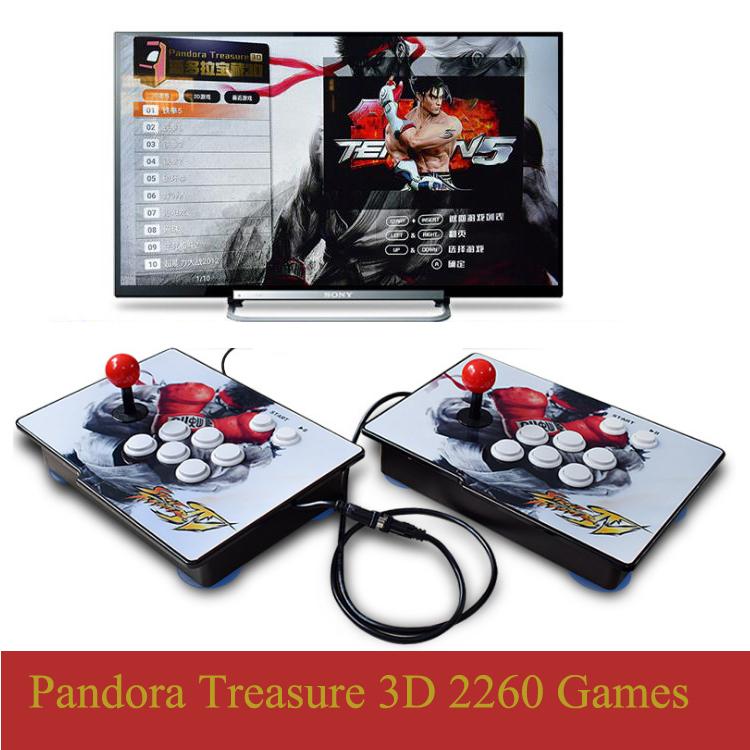 Photo of Pandora Treasure 3D Arcade Game Console
