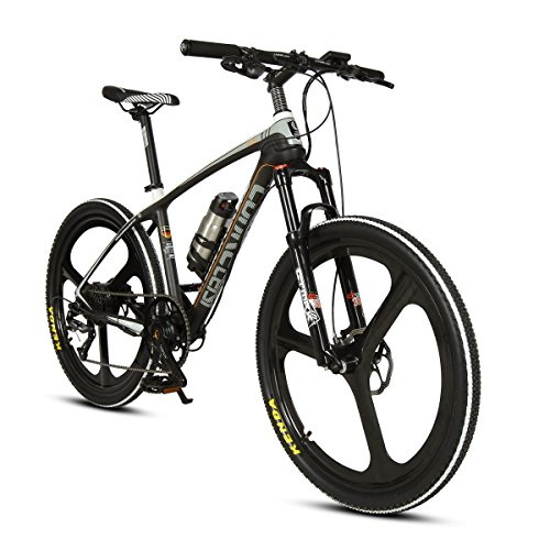 Photo of VTSP Electric Mountain Bike with Carbon Fiber Frame