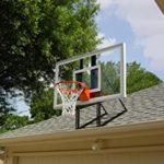 Image of roof mounted basketball hoop