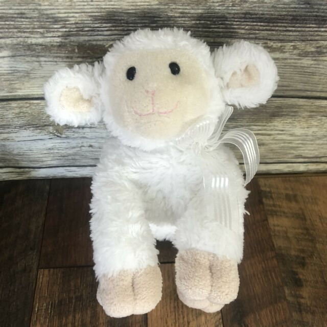 Photo of Baby GUND Lena Lamb Jesus Loves Me Musical Stuffed Animal Plush