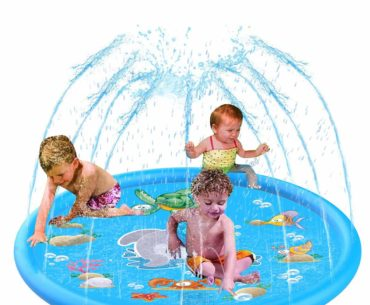 Image of Baby Infant Splash Pad Wading Swimming Pool