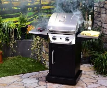Image of Char-Broil-Performance-Infrared-300-2-Burner-Cabinet-Liquid-Propane-Gas-Grill