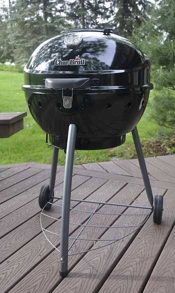 Photo of Char-Broil TRU-Infrared Kettleman Charcoal Grill