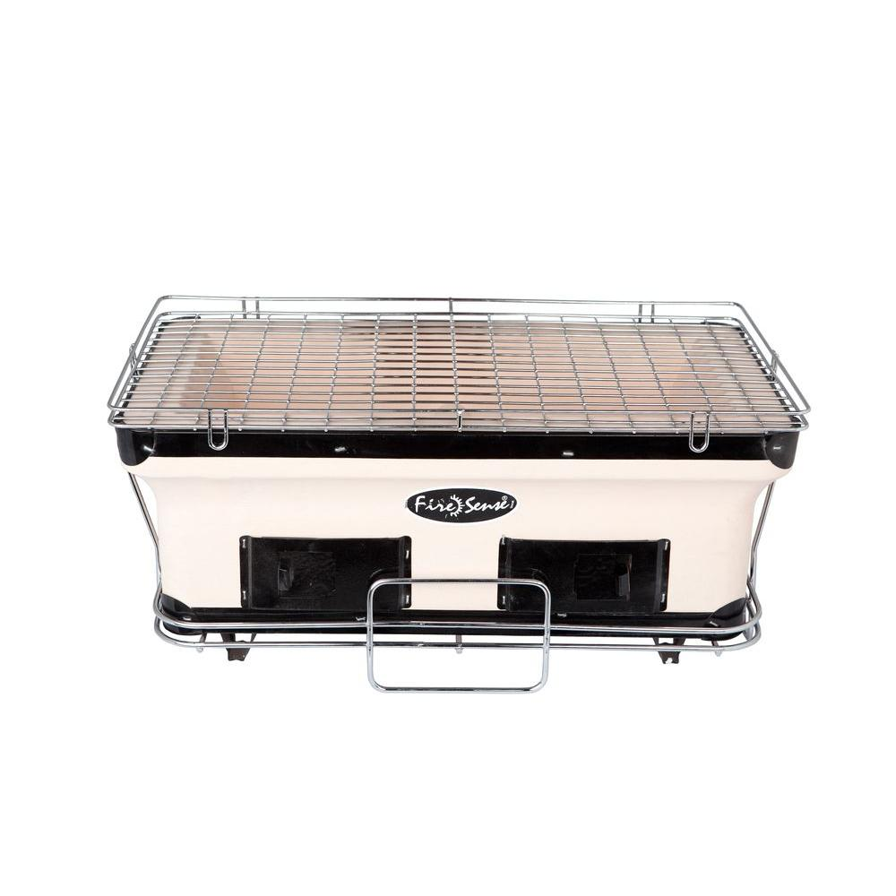 Picture of Fire sense large rectangular yakitori charcoal grill