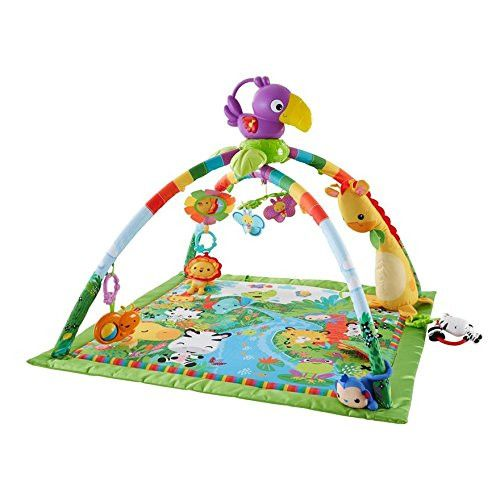 Photo of Fisher-Price Rainforest Music & Lights Deluxe Gym Present