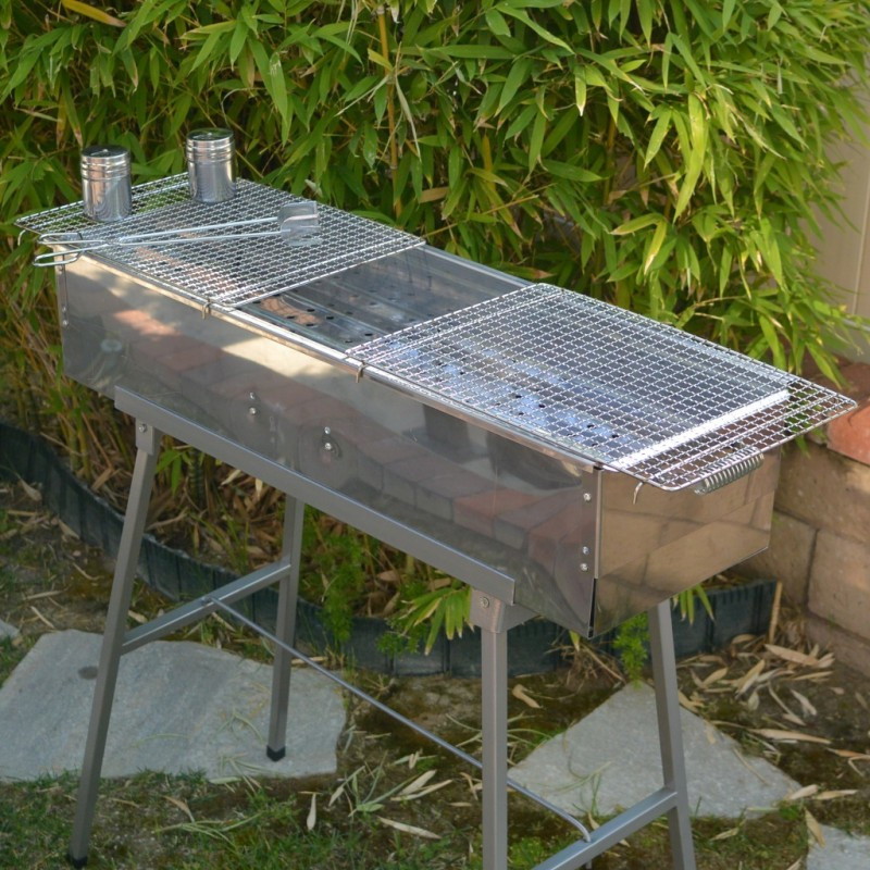 Picture of Gybai Portable Yakitori Stainless Steel Charcoal Grill
