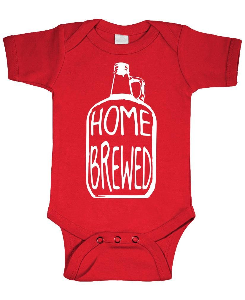 Picture of Home Brewed - Wine Beer Brew Craft - Baby Bodysuit