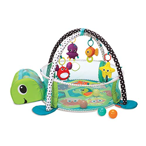 Image of Infantino 3-in-1 Grow with me Activity Gym and Ball Pit