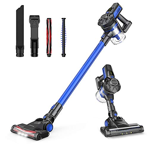 Image of JASHEN Cordless Vacuum Cleaner for Soft Carpets 350W Power Strong Suction