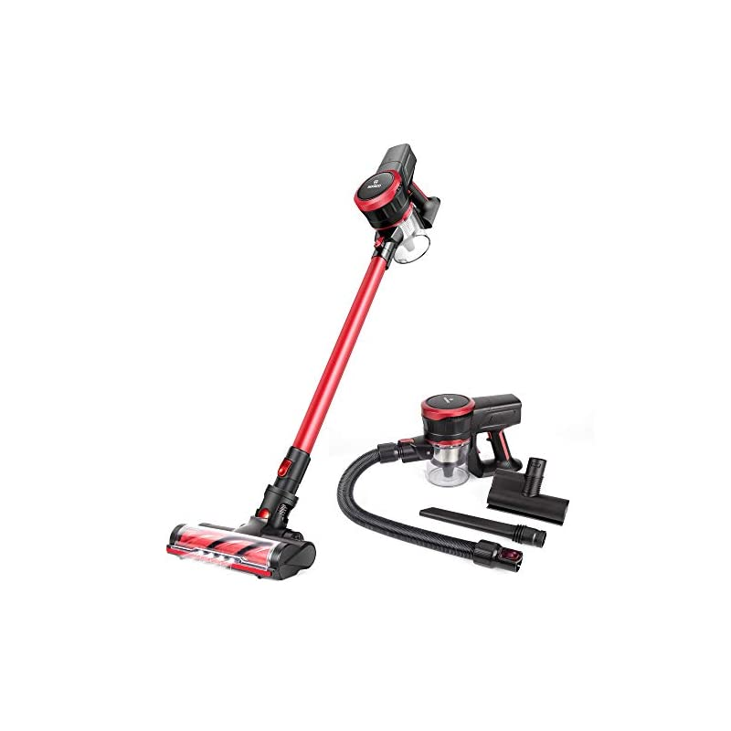 Picture of MOOSOO Cordless Vacuum Cleaner Excelent for Pet and Human Hair