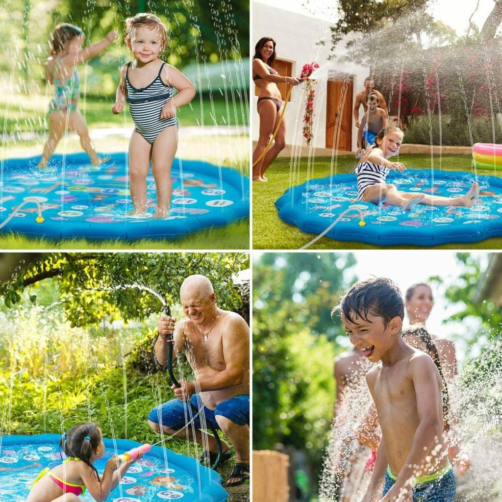 Photo of Obuby Toddlers Outdoor Water Sprinkler Toy