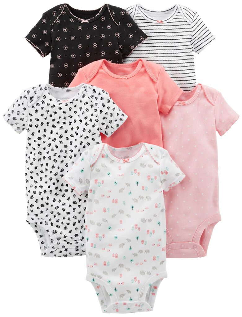 Picture of Simple Joys by Carter's Baby Girls' 6-Pack Short