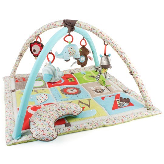 Picture of Skip Hop Alphabet Zoo Baby Play Mat and Infant Activity Gym