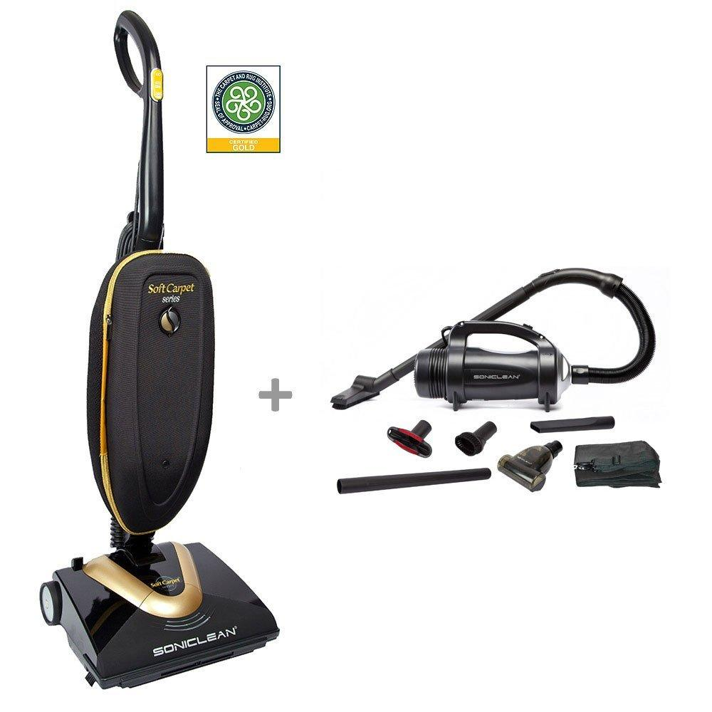 Picture of Soniclean Soft Frieze Carpet Vacuum Cleaner/Handheld Combo