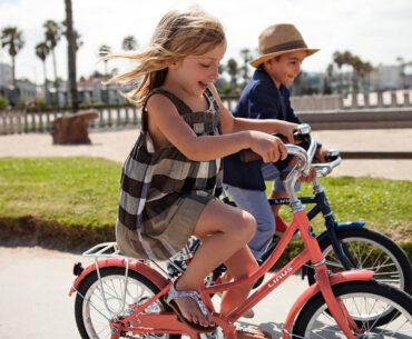 Image of 9 year old kid on bike