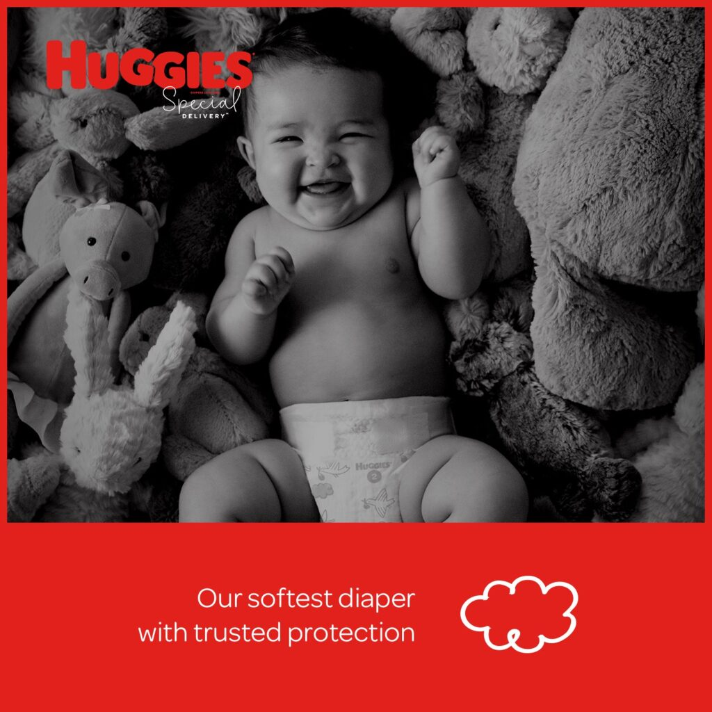 Image of Huggies Special Delivery Hypoallergenic Soft Baby Diapers