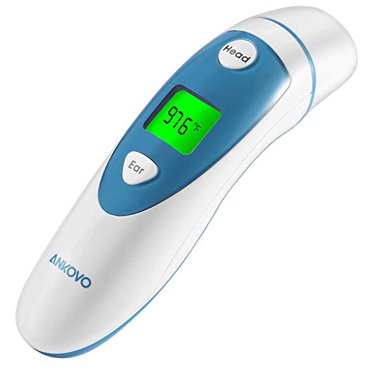 Image of Mcaron Digital Infrared Temporal Thermometer