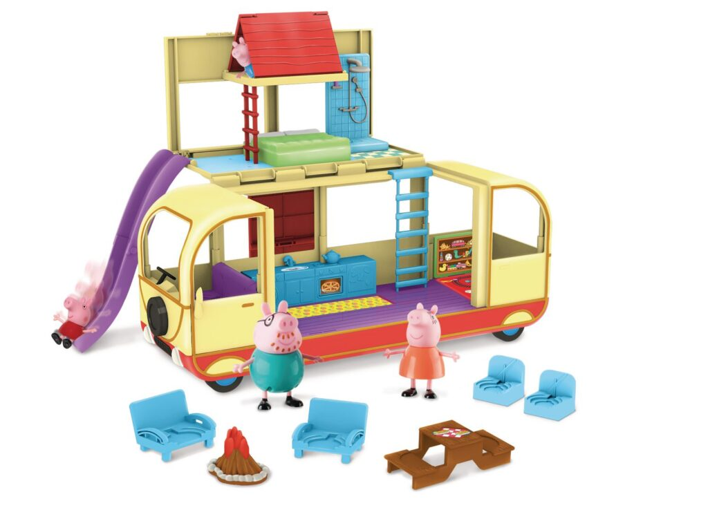 Photo of Peppa Pig's Transforming Campervan Feature Playset