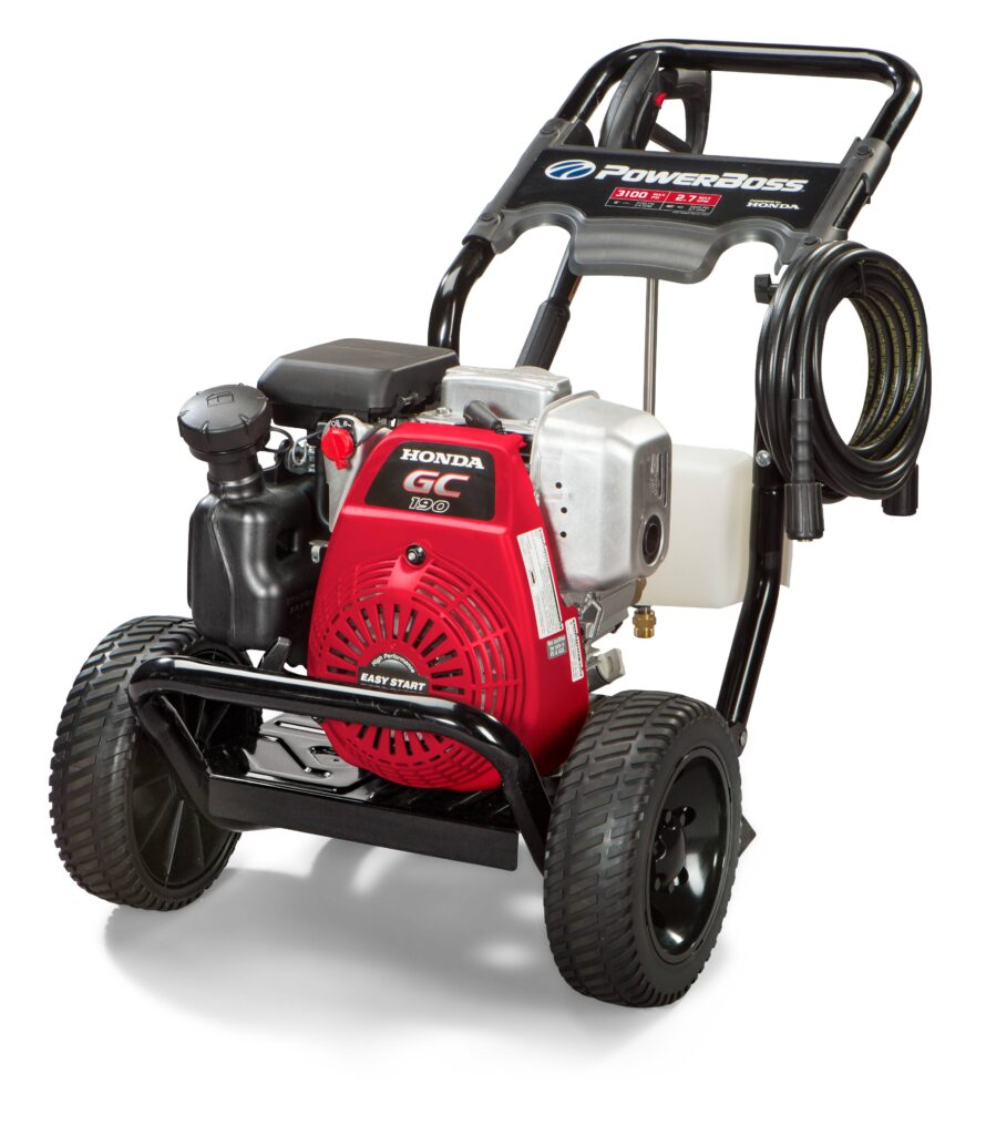 Picture of PowerBoss 3100 MAX PSI at 2.4 GPM Gas Pressure Washer for Home Use with Detergent Tank