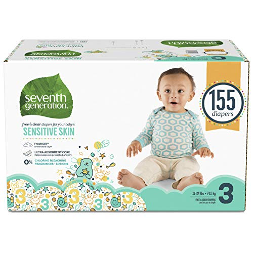 Picture of Sensitive Skin Diapers, Animal Prints