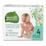 Image of Seventh Generation Baby Diapers for Sensitive Skin