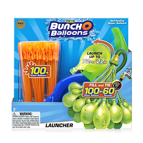 Picture of ZURU Bunch O Balloons 2 Launchers with 130 Rapid-Filling Self-Sealing Water Balloons