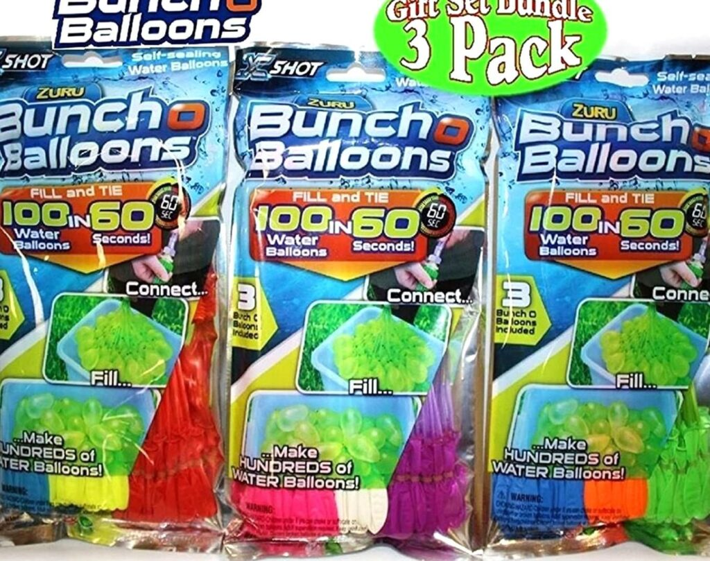 Picture of Zuru Bunch O Balloons Instant Self-Sealing Water Balloons