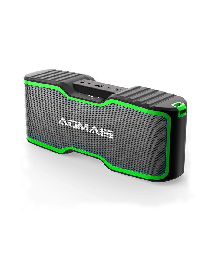 Image of AOMAIS 40-Hour Playtime 100ft Bluetooth Outdoor Speakers