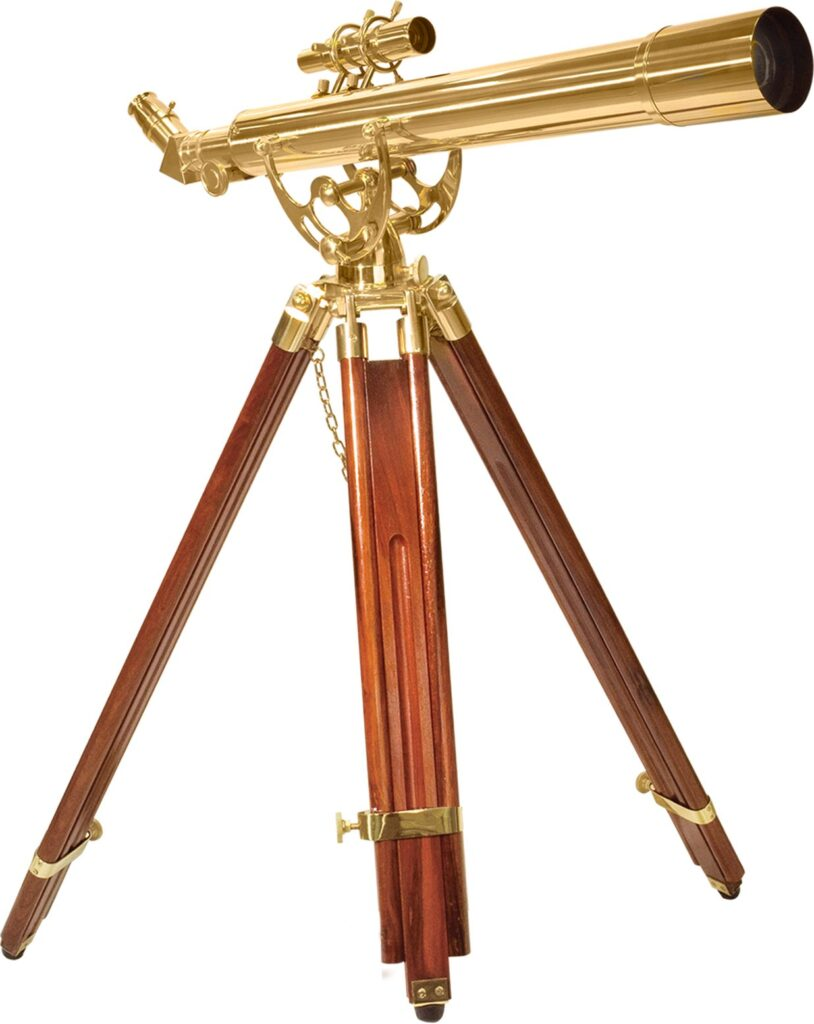 Picture of BARSKA Anchormaster Spyscope Mahogany Floor Tripod