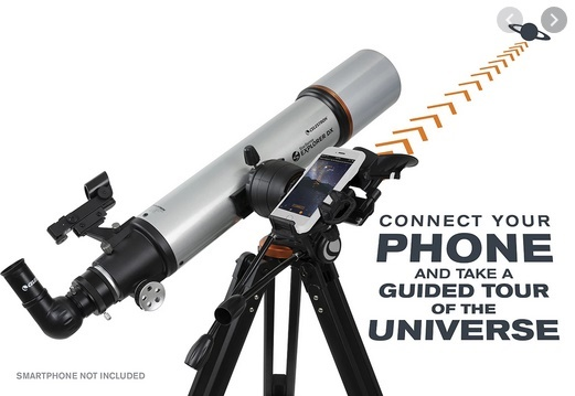 Photo of Celestron StarSense Explorer Smartphone Telescope – Works with StarSense App to Help You Find Stars, Planets and More