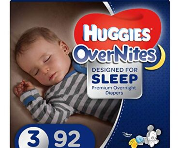 Photo of HUGGIES OverNites Diapers, Size 3, 24 ct.