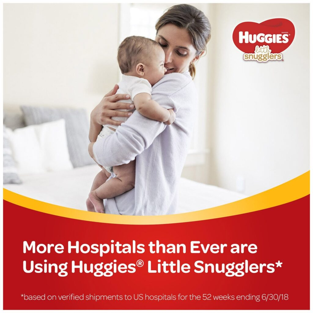 Image of Huggies Little Snugglers Baby Diapers, Size 2
