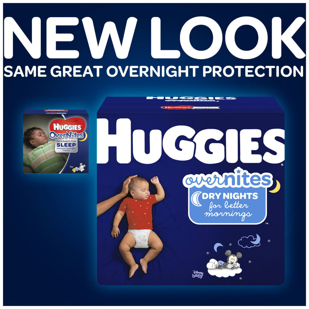 Image of Huggies Overnites Size 3 Nighttime Diapers