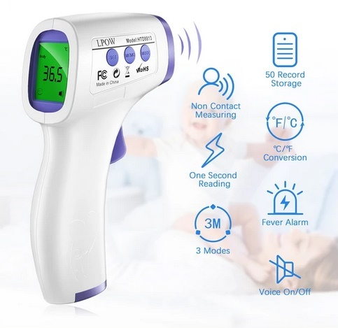 Image of LPOW No Touch Forehead Thermometer