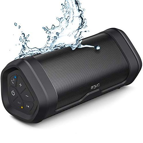 Image of NYNE Boost Portable Waterproof Bluetooth Speakers with Premium Stereo Sound - IP67, 20 Hours Play-time